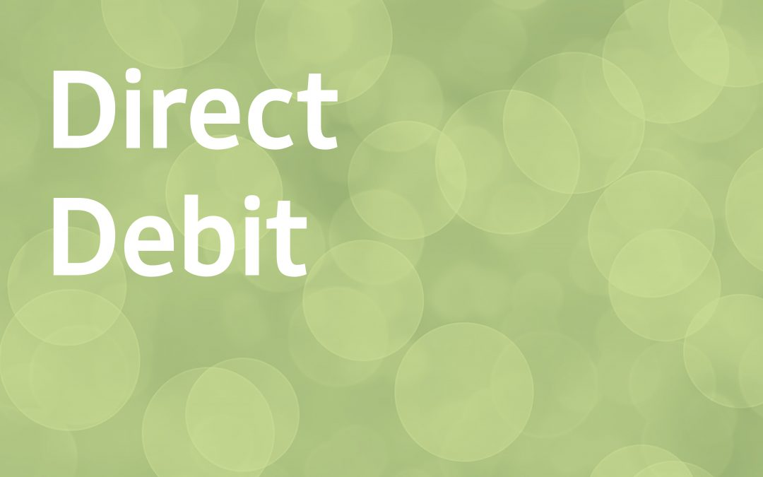 How do I set up a direct debit?